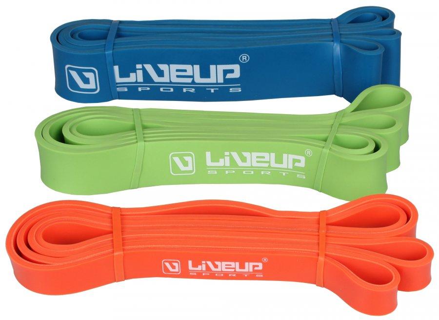 Odporová guma Liveup modrá