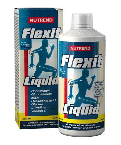 Nutrend Flexit Liquid 500 ml Citrónová