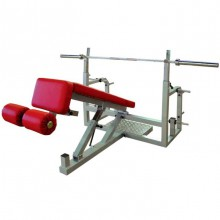 Lavice - Bench press polohovací Deluxe