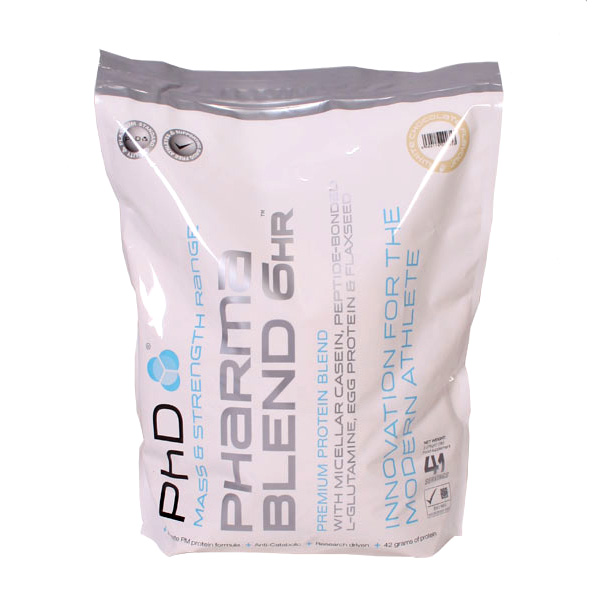 PhD Nutrition Pharma Blend 6HR 2270 g - banán