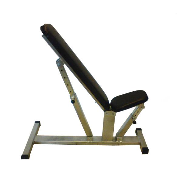 Polohovací lavice Hsport STABIL 0-90° - bílá