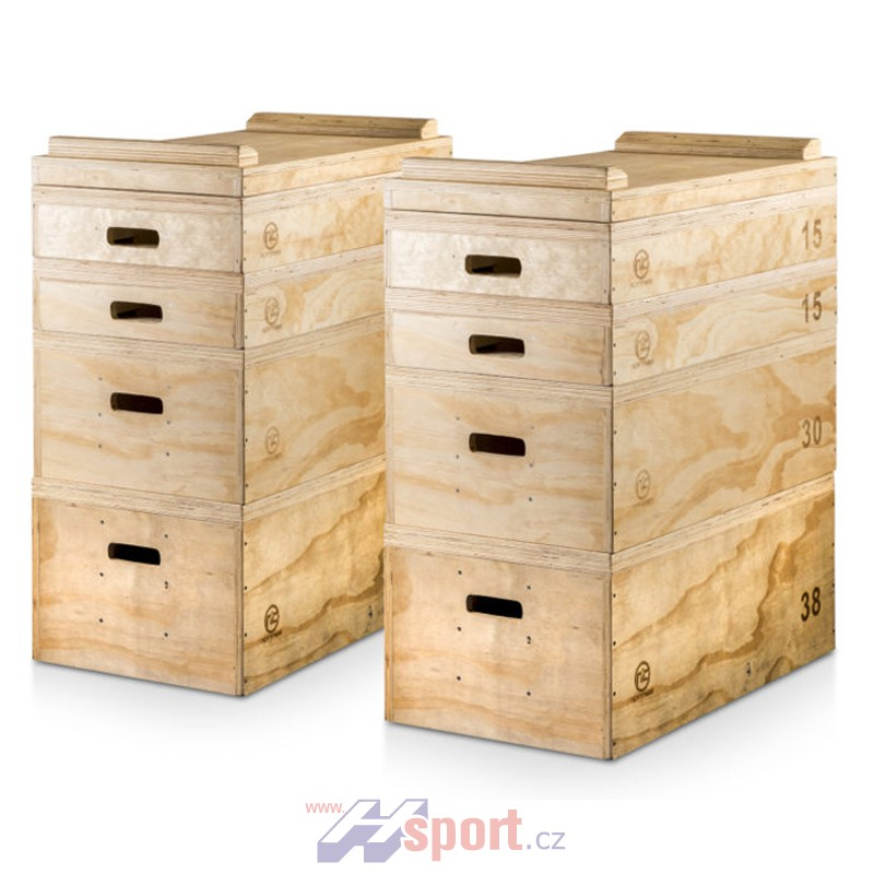 Jerk Box dřevěný Hsport set