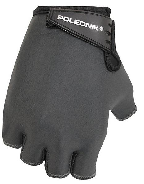 Dětské cyklistické rukavice Polednik Basic černé - 4