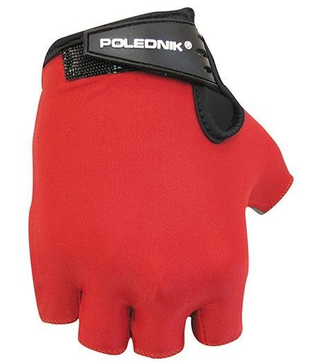 Dětské cyklistické rukavice Polednik Basic červené - 5