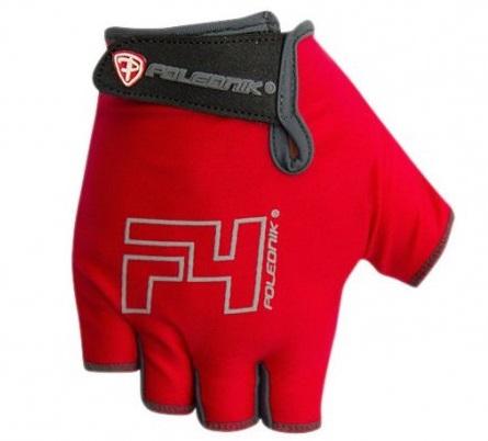 Dětské cyklistické rukavice Polednik F4 2016 červené - 3