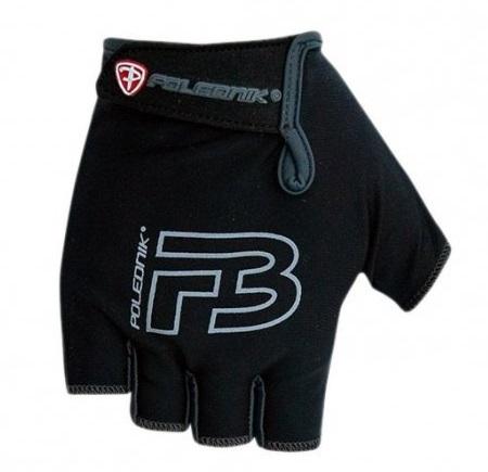 Dětské cyklistické rukavice Polednik F3 2016 černé - 3