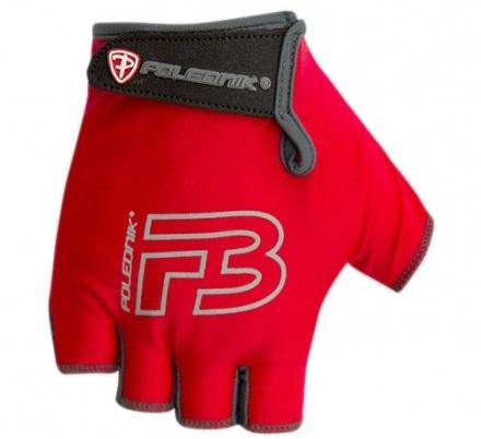 Dětské cyklistické rukavice Polednik F3 2016 červené - 4