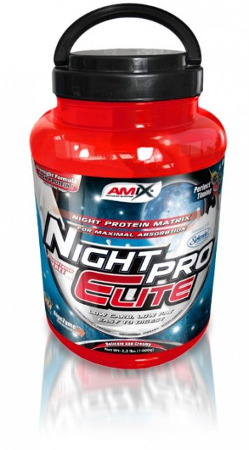 Amix Whey Pro Night Protein 2300 g - čokoláda
