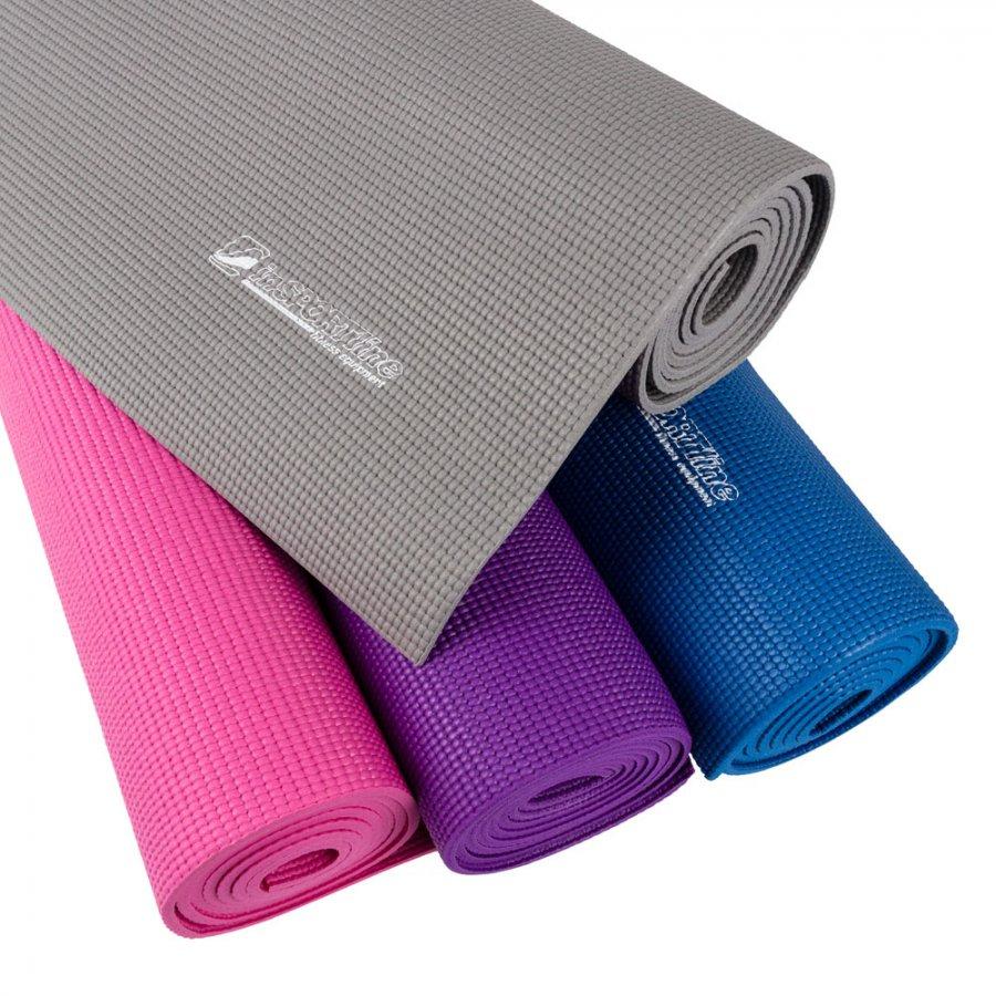Karimatka inSPORTline Yoga 173 x 60 x 0,5cm - modrá