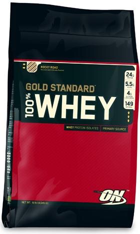 Optimum Nutrition 100 % Whey Gold Standard 4540 g - vanilka