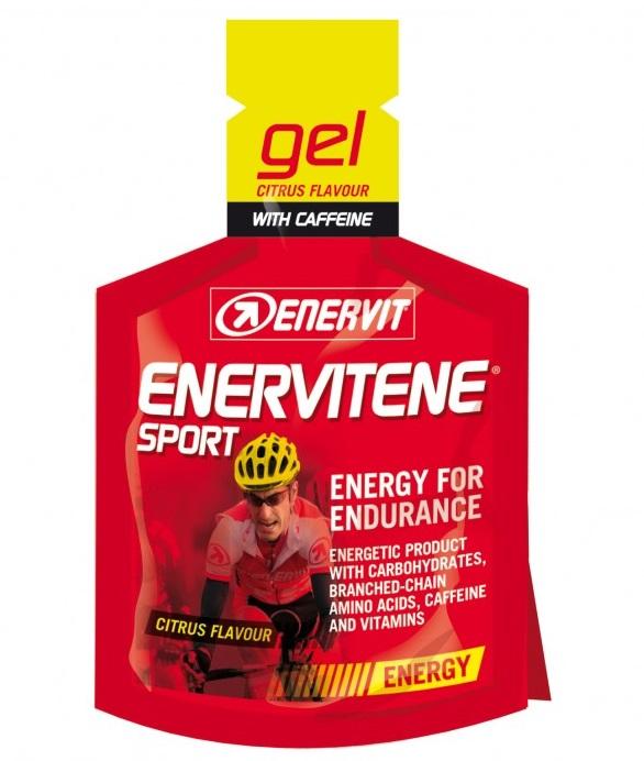 Enervitene Sport Gel + Kofein 25 ml - citrus