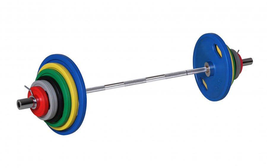 Formerfit Barevný činkový set 135 kg