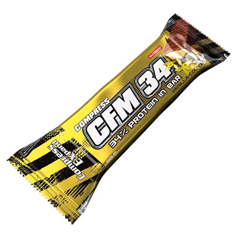 Nutrend Compress CFM 34% Protein Bar 80 g - banán