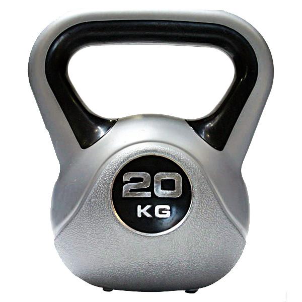 Kettlebell 20 kg - šedá