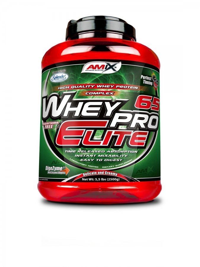 Amix WheyPro Elite 65% - 2500 g - čokoláda extra