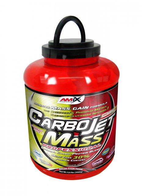 Amix CarboJet Mass Professional 3000g - čokoláda