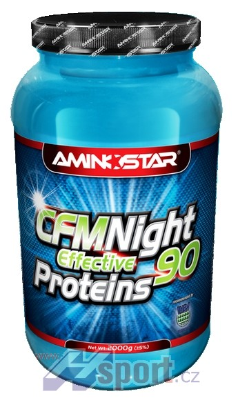 Aminostar Night Effective protein 90 1000 g
