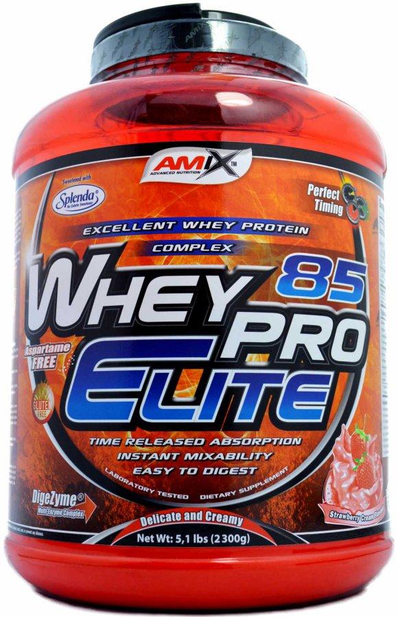 Amix WheyPro Elite 85% - 2300 g - banán