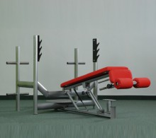 Lavice na Bench Press se stojany EXCLUSIVE - hlavou dolů