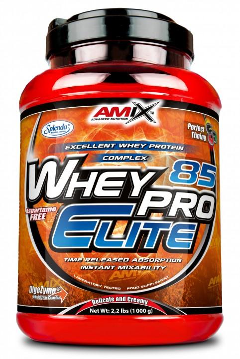 Amix WheyPro Elite 85% - 1000 g - čokoláda extra