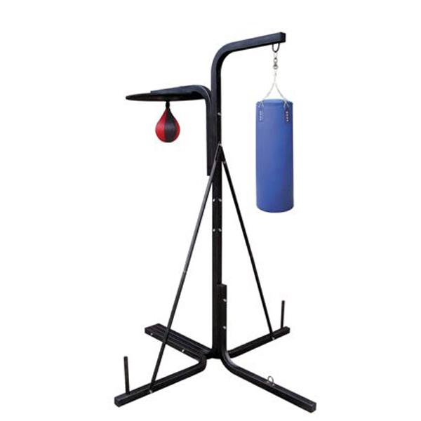 Boxovací stojan s pytlem a hruškou Insportline