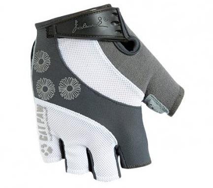 Dámské cyklistické rukavice Polednik Daisy šedé - XS