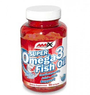 Amix Super Omega 3 Fisch Oil 1000mg 90 cps