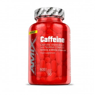 Amix Caffeine 200mg with Taurine 400mg  90cps