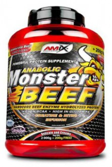 Amix Anabolic Monster BEEF 90% Protein 2200 g