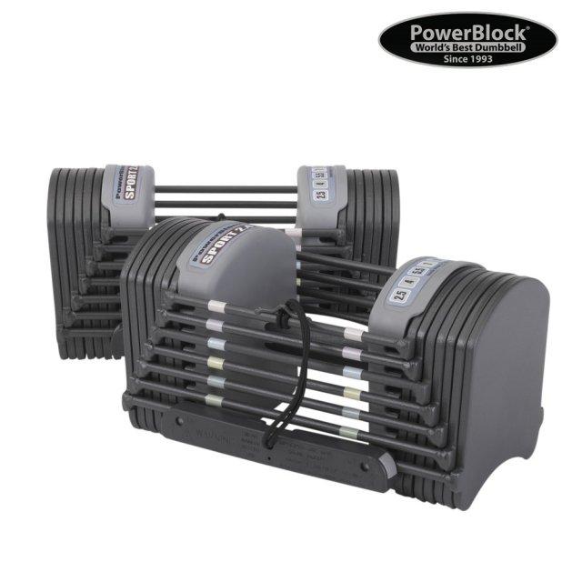 Power Block Činkový přikládací set PowerBlock Sport 2.4 - 1,5-11 kg
