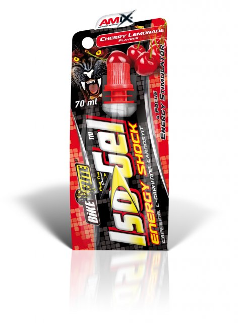 Amix IsoGel Energy Shock 70 ml - cherry lemonade