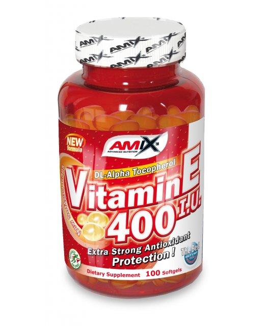 Amix Vitamin E 400 IU 100 softgels