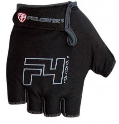 Cyklistické rukavice Polednik F4 černé - XXL