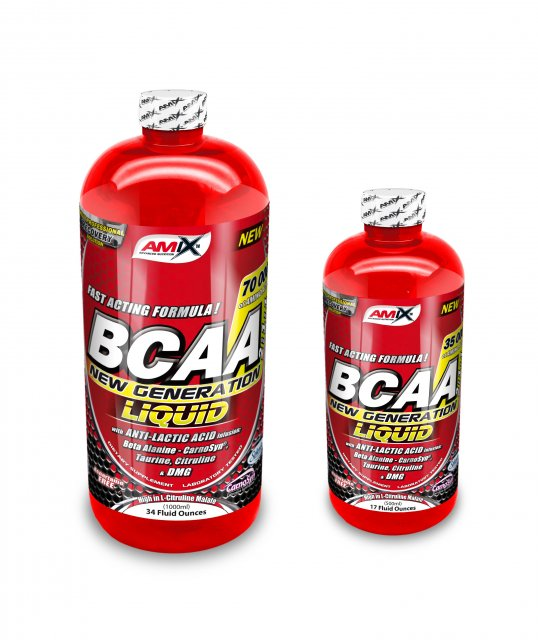 Amix BCAA New Generation 1000 ml + 500 ml zdarma - ovocný punč