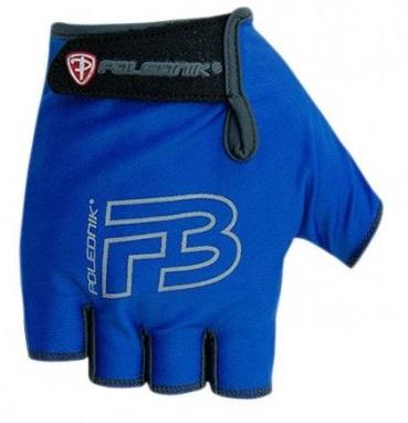 Cyklistické rukavice Polednik F3 modré - XL