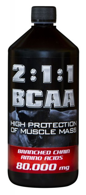 Holma BCAA 80.000 mg 2:1:1 gel 1000 ml - pink grep