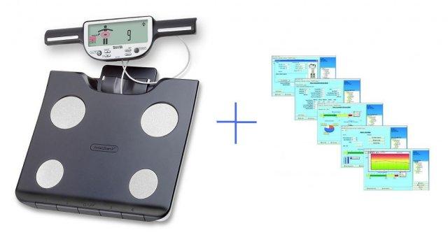 Set - osobní digitální váha Tanita BC 601 + software GMON