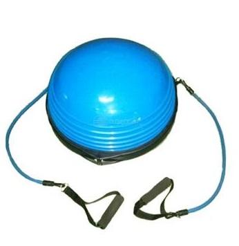 Balanční podložka Dome Ball - žlutá