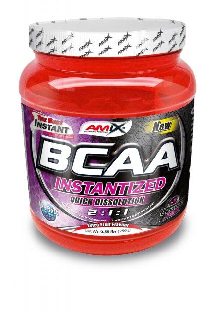 Amix BCAA Instantized 2:1:1 - 250 g - fruit punch