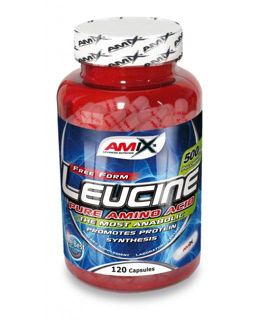 Amix L-Leucine PURE 500 mg - 120 cps
