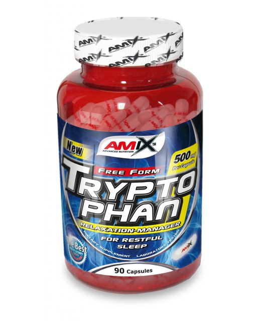 Amix L-Tryptophan 500 mg - 90 cps