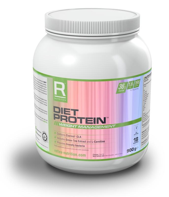 Reflex Nutrition Diet Protein 900 g - banoffee