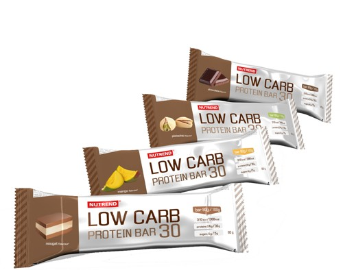 Nutrend Low Carb Protein Bar 80 g - nugát