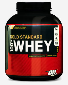 Optimum Nutrition 100% Whey Gold Standard 2270 g - vanilka