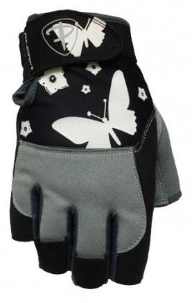 Dámské fitness rukavice Polednik Butterfly černé - S