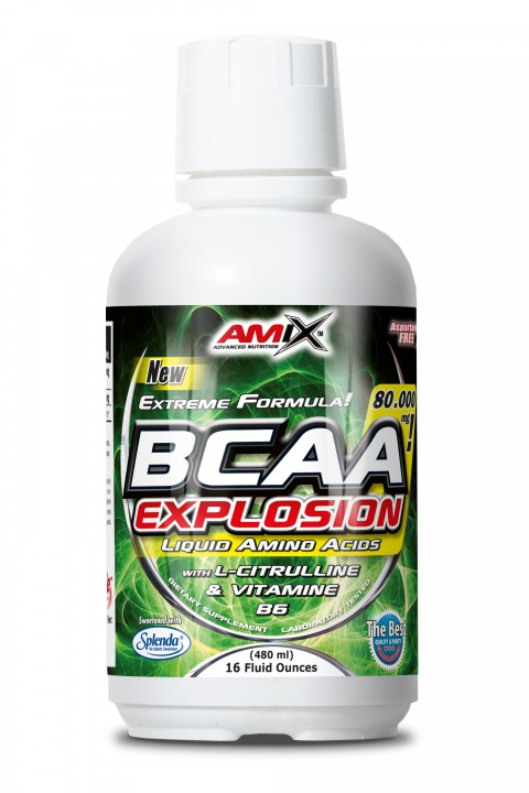 Amix BCAA Explosion 80000 mg - 920 ml - limeta