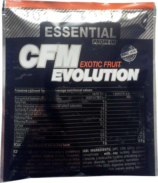 Prom-in Essential CFM Evolution 30 g - pistácie