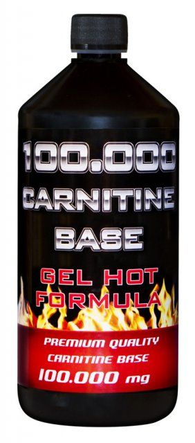 Holma L-Carnitine base 100.000mg gel 1000ml - cherry