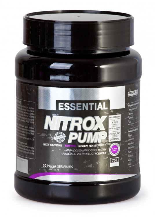 Prom-in Essential Nitrox Pump 750 g - pomeranč