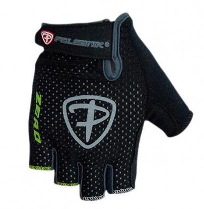 Cyklistické rukavice Polednik Zero černé - S